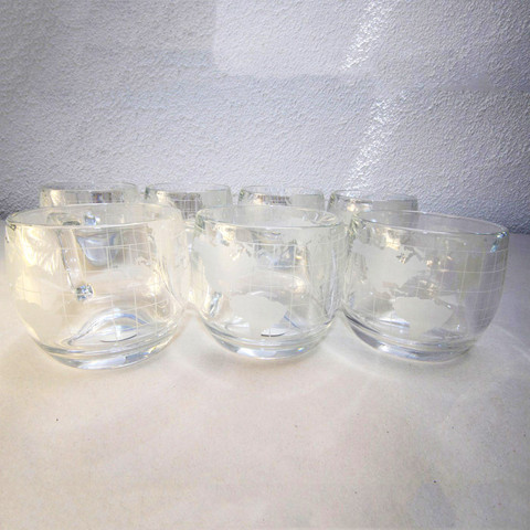 Auroras Dagger Globe Glass Mugs