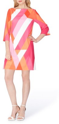 Women's Tahari Print Shift Dress $128 thestylecure.com