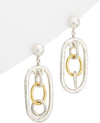 Gurhan Hoopla 24K & Silver Drop Earrings