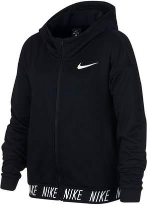 Nike Older Girls Dry Core Studio Hoodie - Black