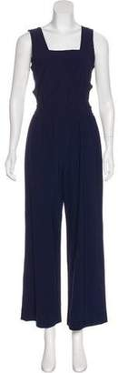 Yigal Azrouel Virgin Wool Wide-Leg Jumpsuit