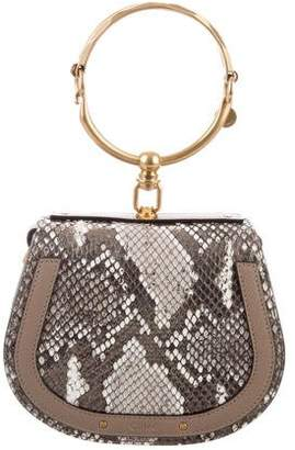 Chloé Python Small Nile Bracelet Bag
