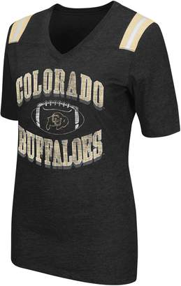 Women's Campus Heritage Colorado Buffaloes Distressed Artistic Tee