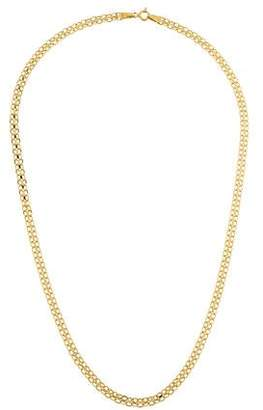 14K Double Chain Necklace
