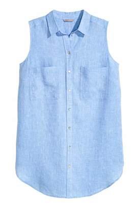 H&M Sleeveless Linen Tunic