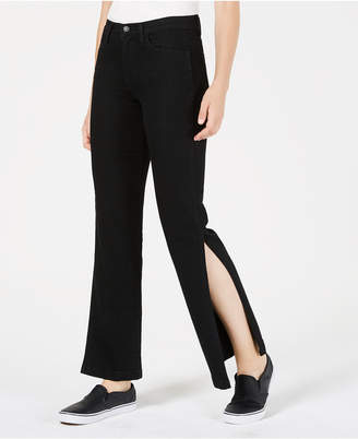 Flying Monkey Ankle-Slit Jeans