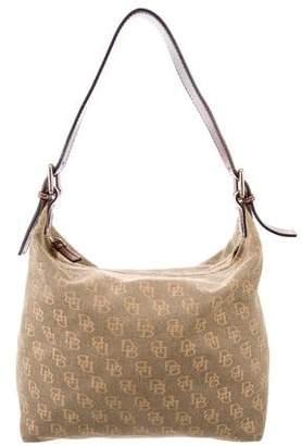 Dooney & Bourke Leather-Trimmed Monogram Bag