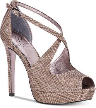 Adrianna Papell Rosalie Platform Evening Sandals Women's Shoes