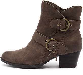 Earth Olive-ea Stone Boots Womens Shoes Casual Ankle Boots