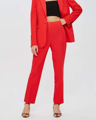 Topshop High-Waisted Suit Trousers