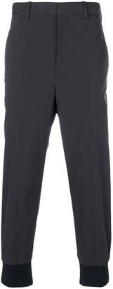 Neil Barrett gathered ankle trousers