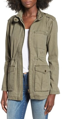 Women's Bp. Cotton Canvas Anorak $69 thestylecure.com