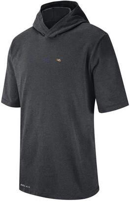 Nike Men Lsu Tigers Dri-fit Hooded T-Shirt
