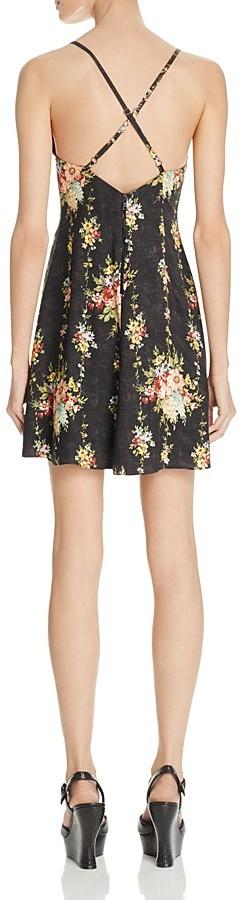 Alice + Olivia Alves Floral Print Dress 2