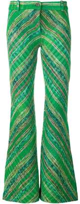 Missoni flared boot-cut trousers