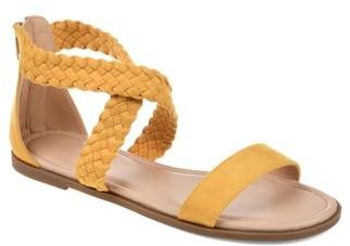 Brinley Co. Womens Comfort Woven Gladiator Sandal
