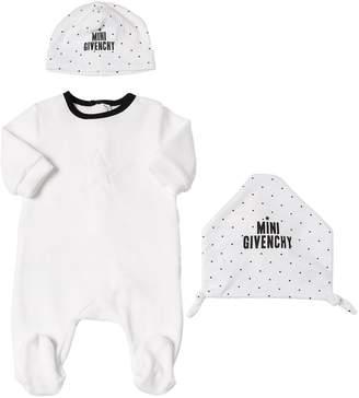 Givenchy (ジバンシイ) - GIVENCHY シェニールロンパース・ジャージー帽・おもちゃ