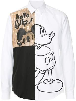 Iceberg Mickey print shirt