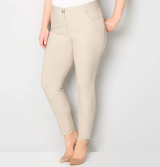 Avenue Luxe Stretch Mid-Rise Legging with Comfort Waist