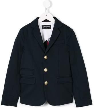 DSQUARED2 button-embellished blazer