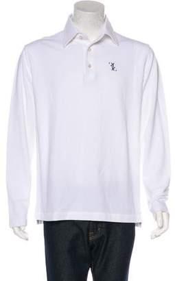 Couture Billionaire Italian Long Sleeve Polo Shirt w/ Tags