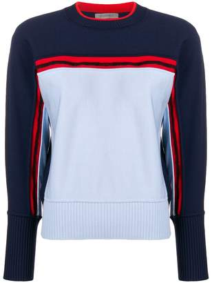 Sportmax colour-block fitted sweater