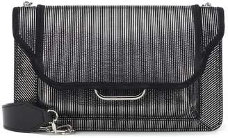 Isabel Marant Skamy leather and suede shoulder bag