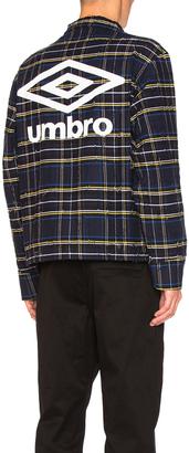 OFF-WHITE x Umbro Jacket $942 thestylecure.com