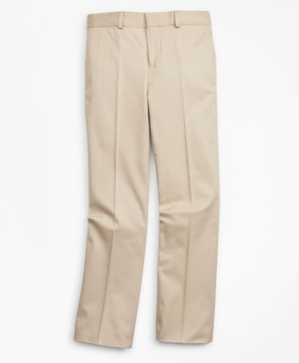 Brooks Brothers Boys Cotton Twill Suit Pants