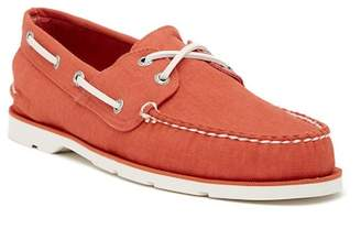 Sperry Leeward 2-Eye Cross Lace Boat Shoe
