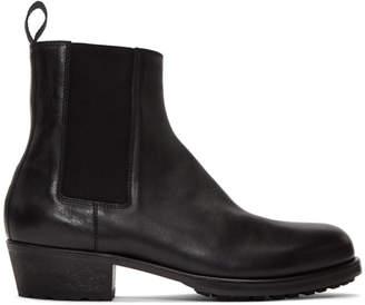 Haider Ackermann Black Chelsea Boots