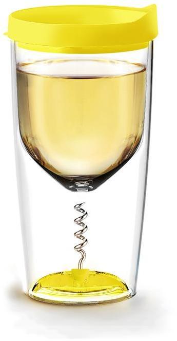asobu Insulated Vino Opener Cup