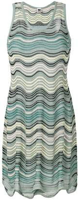 M Missoni zig-zag knitted dress