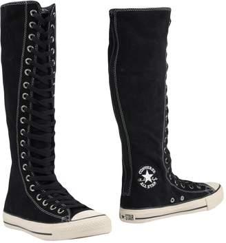 converse high boots
