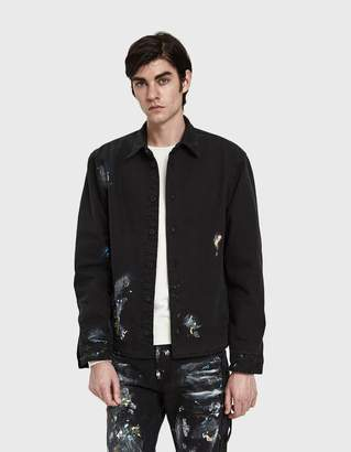 Off-White Off White Vintage Paint Work Jacket
