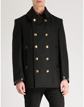 Givenchy Double-breasted wool-blend pea coat