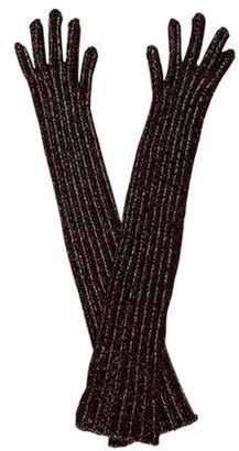 Prada Wool Gloves silver Wool Gloves