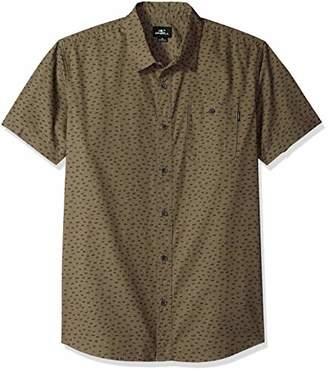 O'Neill Men's Central Short Sleeve Woven Shirt