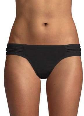Robin Piccone Gathered Bikini Bottom