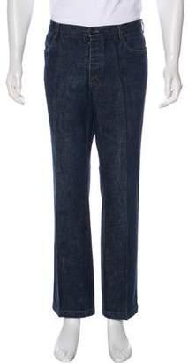 Prada Sport Twill Straight-Leg Jeans