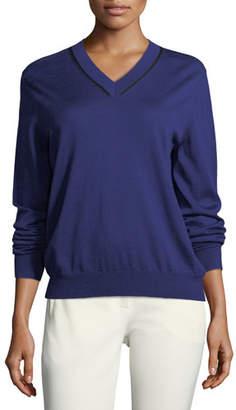 Joseph Wool V-Neck Sweater