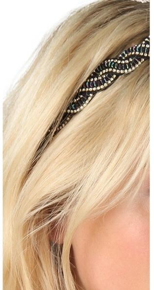 Deepa Gurnani Crystal Wave Headband