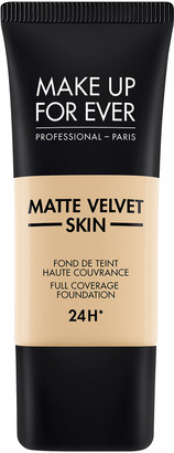 Make Up For Ever Matte Velvet Skin Full Coverage Foundation