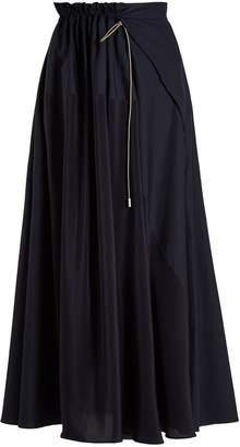 Roksanda Misha drawstring maxi skirt