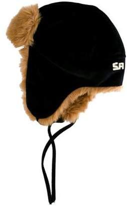 Rykiel Enfant Girls' Faux Fur-Trimmed Trapper Hat