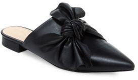 Nanette By Nanette Lepore Ambar Leather Mule Flats