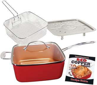 As Seen On Tv As Seen on TV Red Copper 5-pc. Cookware Set