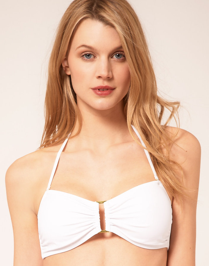 Vero Moda Intimates Ring Bandeau Bikini Top