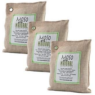 Moso Natural Air Purifying Bag 3 Pack. Bamboo Charcoal Air Freshener