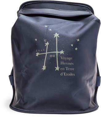 Hermes Backpack VIP Glow in the Dark Voyage en Terre d'Etolies Blue